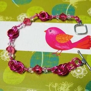 Swarovski Crystal Rosette Bracelet.SALE Price Drop